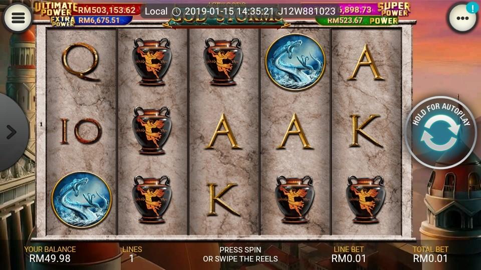 Jackpot machine